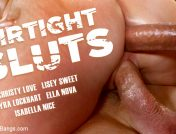 Lyra Lockhart – Airtight Sluts: Five Hot Sluts Take Five Hard Cocks and All The Cum