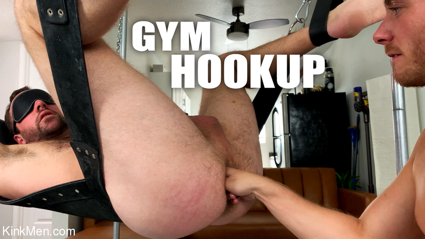 Alex Hawk, – Gym Hookup: Newcomer Luke Hudson Fists Alex Hawk_cover