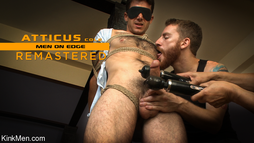 Atticus Cole – Atticus Cole: Handsome Big Cock Straight Stud Gets Edged_cover