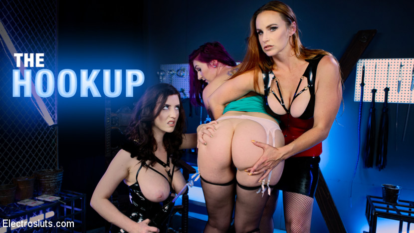 Bella Rossi, – The Hookup: Bella Rossi and Cherry Torn Devour Fresh Electroslut Meat!_cover