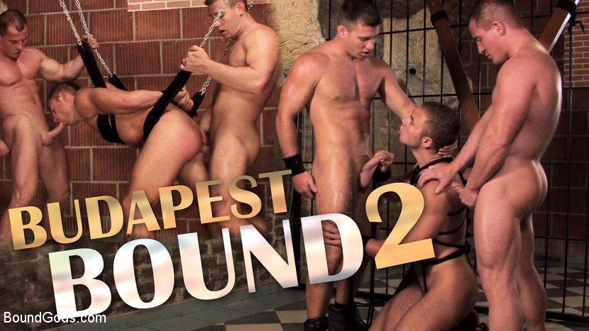 Rick Bauer, – Budapest Bound 2: Never-Before-Seen Fuckfest in Budapest Dungeon_cover