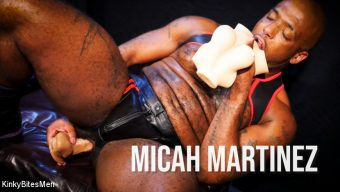 Micah Martinez – Micah Martinez: Hairy Muscle Butt Rides Huge Cocks to Please Daddy