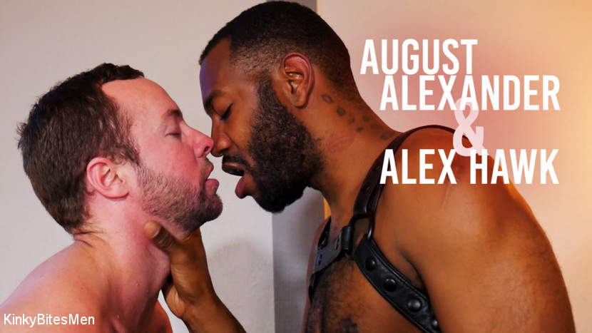 Alex Hawk, – Switching Roles: August Alexander Takes Charge_cover
