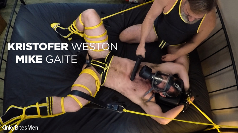 Kristofer Weston, – Kristofer Weston Ties Up Mike Gaite and Torments His Hairy Hole_cover