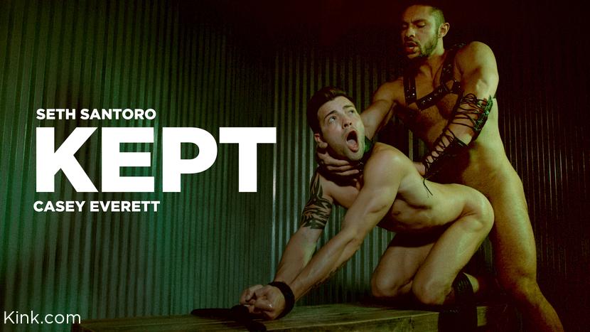 Seth Santoro, – KEPT: Casey Everett is Used & Fucked by Seth Santoro RAW_cover