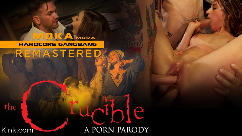 Moka Mora, – Moka Mora: The Crucible Gangbang_cover