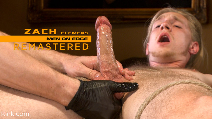 Zach Clemens – Zach Clemens: Straight Stud Blows Huge Load from Prostate Milking_cover